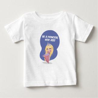 Soyez une princesse, âne de coup-de-pied ! - t-shirt pour bébé