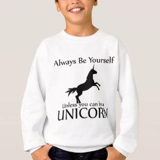 Soyez vous-même licorne sweatshirt