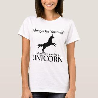 Soyez vous-même licorne t-shirt