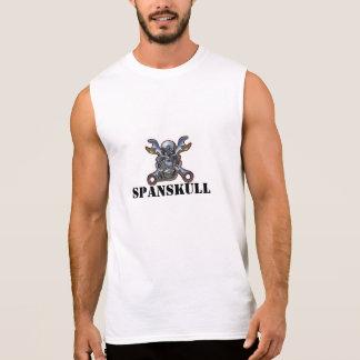 SPANSKULL T-SHIRT SANS MANCHES