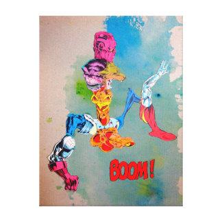 Spant zich in op weefsel - de Goede Verhoudingen Canvas Print