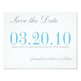 Sparen de Datum Custom Uitnodging
