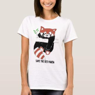 Sparen Rode aka FireFox van de Panda T Shirt
