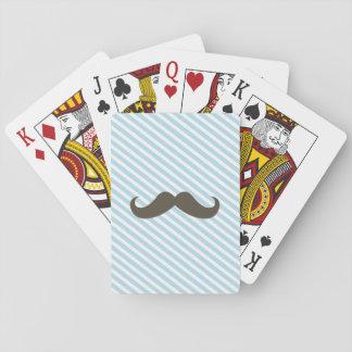 Speelkaarten van het Gezicht van de snor de Standa