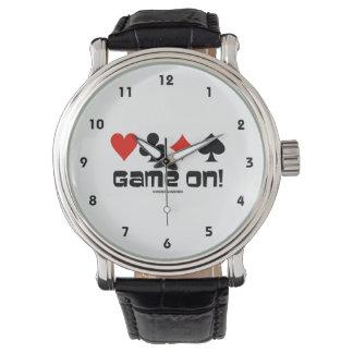 Spel! (Vier Kostuums van de Kaart) Horloges
