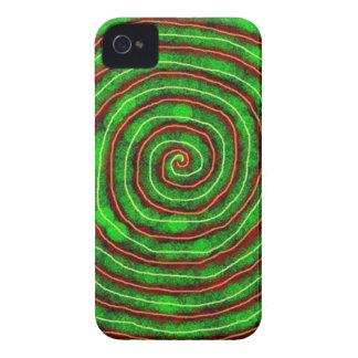 Spirale verte coque Case-Mate iPhone 4