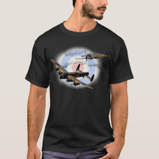 Spitfire et Lancaster T-shirt
