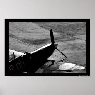 Spitfire garé