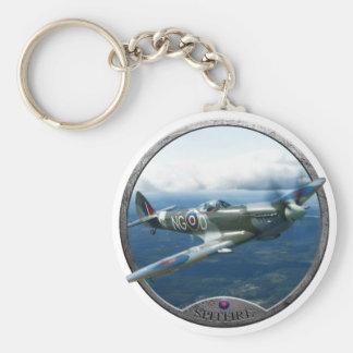 Spitfire Porte-clé Rond