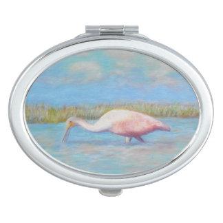 SPOONBILL van de ZOMER Compacte Spiegel Makeup Spiegels