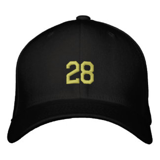 sports 28 casquettes brodées