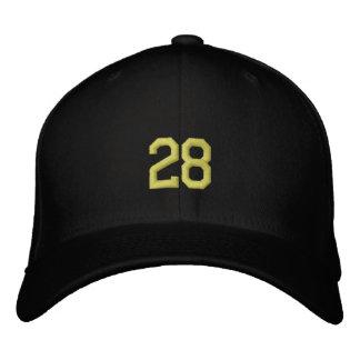 sports 28 casquettes de baseball brodées