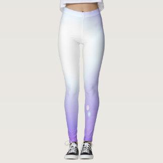 Sports pourpres de séance d'entraînement de mode leggings