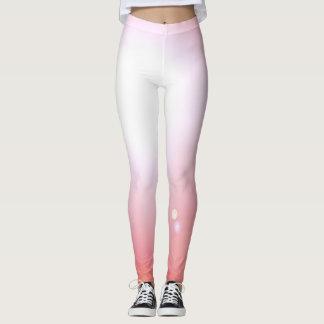Sports roses de séance d'entraînement de mode de leggings
