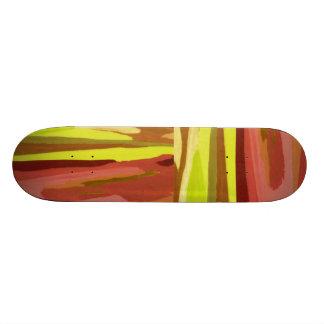 """Spring Greenz"" Skateboard Skateboard Deck"