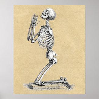 Squelette dans la prière