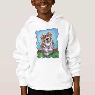 St Bernard mignon badine le T-shirts