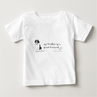 St Bernard T-shirt Pour Bébé