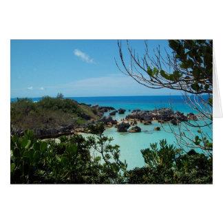 St George historique Bermudes Carte