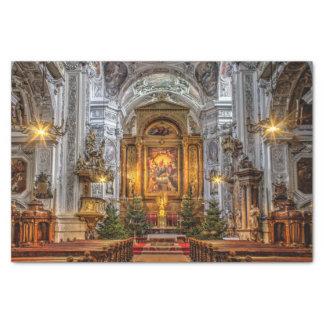 St Maria de Dominikanerkirche rotunda Papier Mousseline
