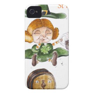 St Paddy's Détouré.png Coque iPhone 4 Case-Mate