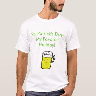 St. Patrick Dag: Mijn Favoriete Vakantie! T Shirt