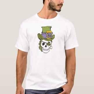 St Patrick Day Skull T Shirt