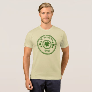 St Patrick Day Stamp Holiday Saint Patrick Unisex- T Shirt