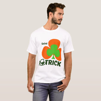 St. - Patrick' s Day men tshirt - 0range and Green