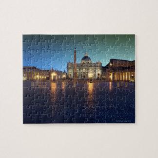 St Peters Vierkant, Rome, Italië Legpuzzel