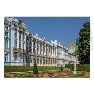 St Petersbourg de Tsarskoe Selo de palais de Carte