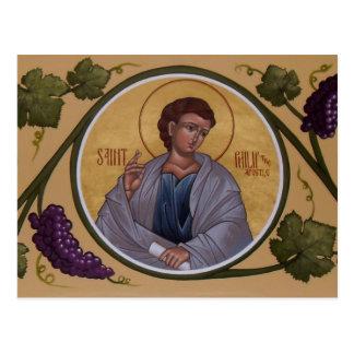 St Philip la carte de prière d'apôtre