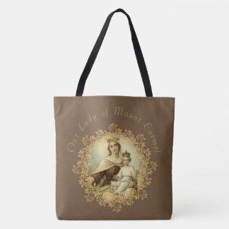 St Therese de l'enfant Jésus peu de fleur Tote Bag