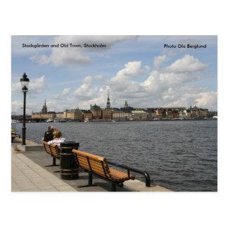Stadsgården et vieille ville, stock… carte postale