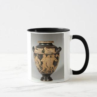 Stamnos, scène de Dionysiac, Etruscan rouge-a Mug