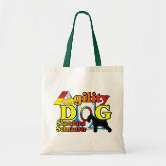 Standard_Schnauzer_Agility Tote Bag