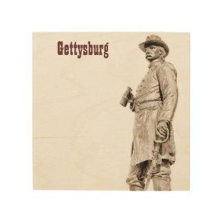 Standbeeld 2 van Gettysburg Houten Canvas