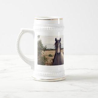 Star_The_Horse, _Beer_Stein_Mug. Chope À Bière