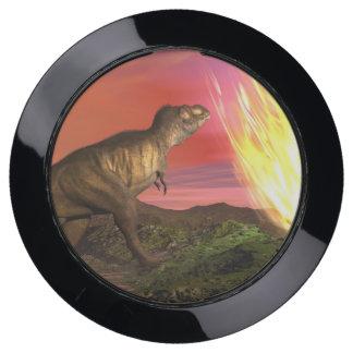 Station De Chargement USB Extinction des dinosaures - 3D rendent