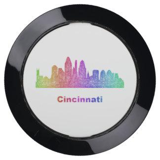 Station De Chargement USB Horizon de Cincinnati d'arc-en-ciel