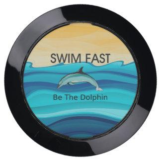 Station De Chargement USB Le dauphin SUPÉRIEUR de bain jeûnent