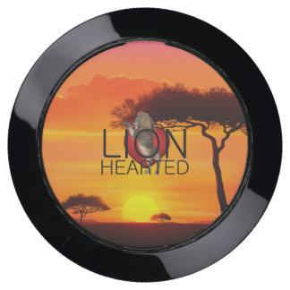 Station De Chargement USB PIÈCE EN T courageuse comme un lion