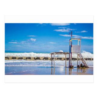 Station de maître nageur carte postale