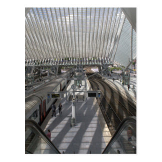 Station Luik-Guillemins Briefkaart