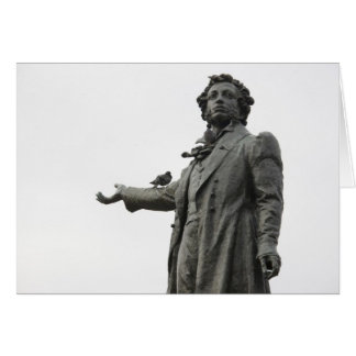 Statue d'Alexandre Pushkin, St Petersbourg Carte
