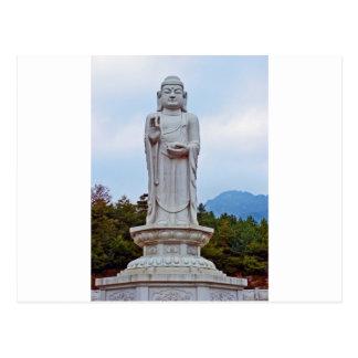 Statue de Bouddha en Corée du Sud, Asie Carte Postale