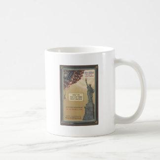 Statue de la liberté mug