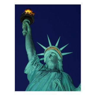 Statue de la liberté, New York, Etats-Unis 5 Carte Postale