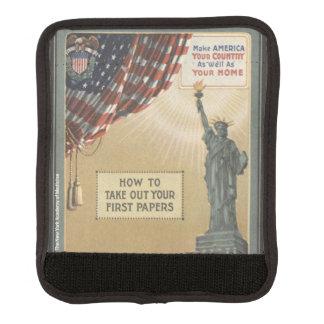 Statue de la liberté protège poignée pour bagage