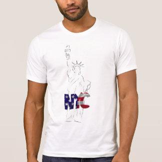 Statue de T-shirt détruit de liberté